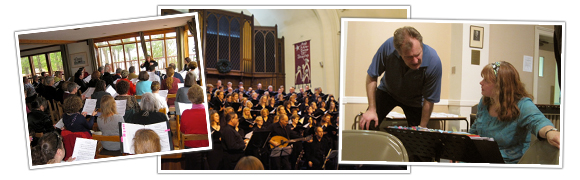 VOCA Chorus photo collage